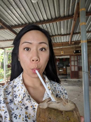 Kím thấy dừa sim trên đường từ Nha Trang ra Đà Lạt