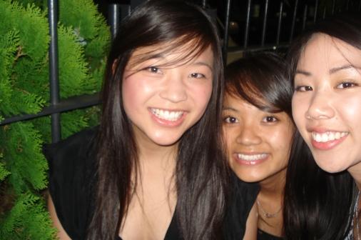 Jenny, Hoà và Hà Anh - năm 2008